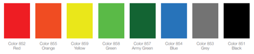 HMPE Colours